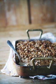 baked apple pie oats