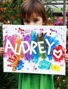 Adventures in Pinteresting: Creative Easy Kids Painting!