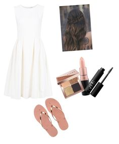 """""""Untitled #42"""" by mkelly5 ❤ liked on Polyvore featuring ADAM, Havaianas, MAC Cosmetics, NARS Cosmetics and Bobbi Brown Cosmetics"""