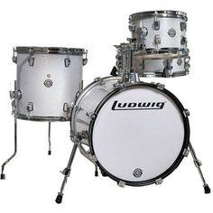Ludwig Breakbeats Street Kit White Sparkle - Manchester Drum Centre