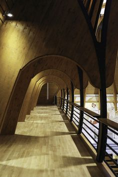 #Wood that wows! #Architecture to heaven in... http://bit.ly/1IxIkBI © Viorel Plesca