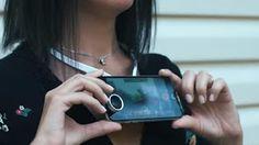 UNIVERSO NOKIA: Povie collare porta smartphone registra video in p...