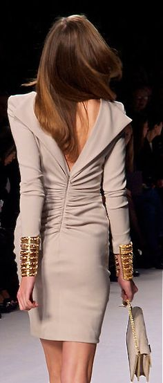 Elie Saab Gorgeous, I would love to see what the front looks like.