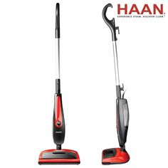 Wash away caked-in dirt and debris with this Haan floor steamer. This versatile machine is an all-in-one sweeper and cleaner, allowing you to reduce the amount of appliances you own. The upright device needs just 20 seconds before it is ready for use.