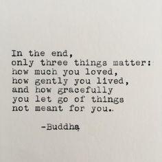 Buddha Life Quote Typed on Typewriter   Etsy