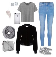 """Untitled #68"" by wrigannabelle on Polyvore featuring T By Alexander Wang, adidas Originals and Gap"