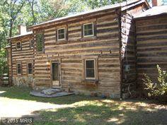 Civil War Era Cabin in West Virginia For Sale