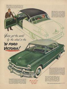 1951 Ford Victoria.