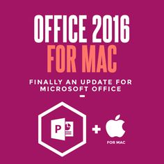 Office for Mac has often played second fiddle to the flagship Windows version that powers Microsoft's productivity software empire, but this Preview proves that might all be about to change! #thejobcreative #presentationdesign #powerpointtemplates #microsoftoffice #office2016 #contentvisulisation