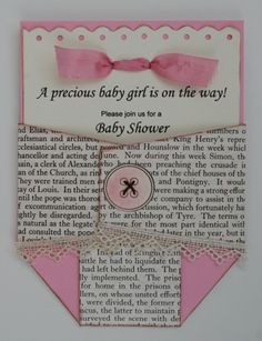 Creative Cuts and More #14 Baby Ens #3 Diaper Invite by PaperliciousDesign - Cards and Paper Crafts at Splitcoaststampers