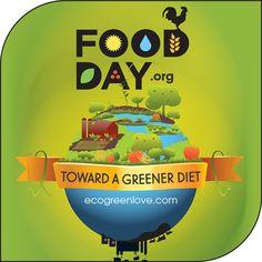 Environmental Dates: Food Day | ecogreenlove