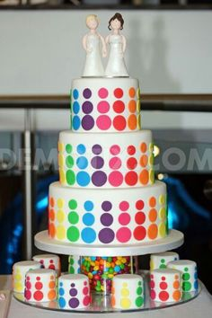 Gay Pride cake. Love is love. #Marriage #Equality