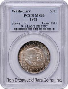 PCGS MS66 1952 Washington Carver Front