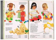 Vintage toys from the summer 1976 Mothercare catalogue