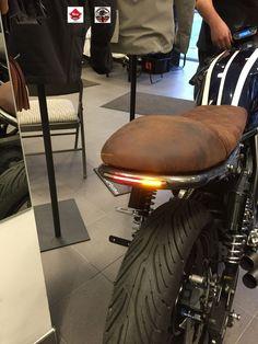 Cafe Racer Scrambler LED Light Strip Motorcycle Running / Brake / Turn Signal EC