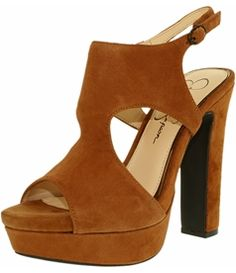 Jessica Simpson Women's Barrow Suede Ankle-High Leather Pump