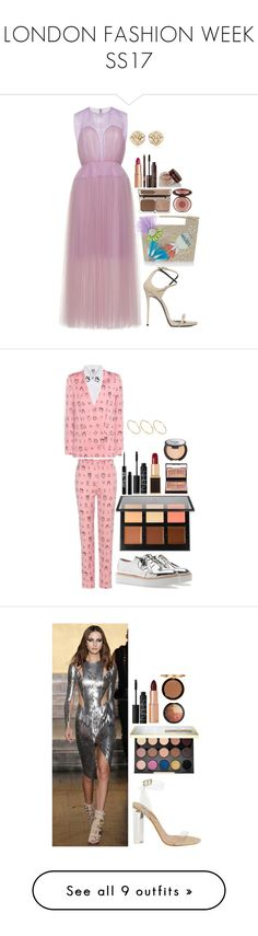 """LONDON FASHION WEEK SS17"" by imadeintheuk ❤ liked on Polyvore featuring Delpozo, Giuseppe Zanotti, Charlotte Tilbury, Blue Nile, LFW, outfits, giuuseppezanotti, Shrimps, Anastasia Beverly Hills and Urban Decay"