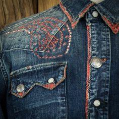 kapital denim embroidery