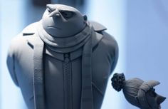 """Gru and Lucy - Despicable Me 2 #maquette by Michael DeFeo. Check out """"The Art of Despicable Me 2"""" on Vimeo from which this screencap was taken. In it, DeFeo discusses his process of being a 3D Development Artist!"""