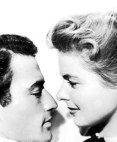 "Gregory Peck & Ingrid Bergman ~ ""Spellbound"" 1945"