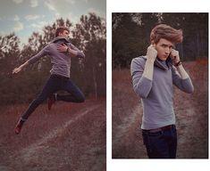 Zoe Phobic Sweater, Vintage Belt, Pull & Bear Skinny Jeans, Zara Rubbered Leather Shoes