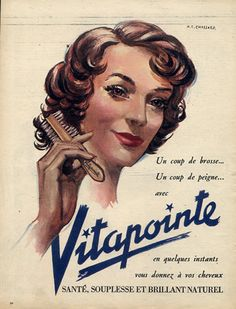 Vitapointe (Hair Care) 1951 Marcel R. Chassard