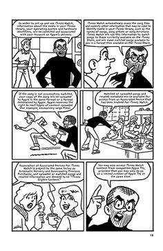The iTunes Terms and Conditions Illustrated as a Graphic Novel -
