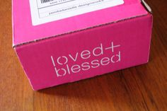 Love + Blessed Review - Christian Subscription Box - October 2014 - http://mommysplurge.com/2014/10/love-blessed/