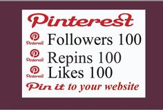 if you need pinterest likes, followers or repins you can order