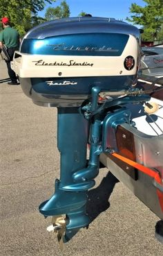 '50s Evinrude Fastwin