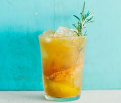 Rosemary-Tangerine Cooler -- This drink is as refreshing as it is dangerous. We think the whole crowd will agree.