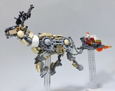 """LEGO Mech Reindeer-11"" by ToyForce 120: Pimped from Flickr"