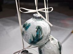 An Awesome Gift and Inexpensive Gift!   Like it? Make it, or buy it HERE .  I found a set of 6 clear ornaments on sale at Michael's the othe...