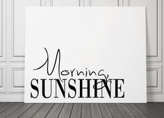 Morning Sunshine  Decor Poster  Inspiring by PrintFusion on Etsy