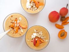 Smoothie of the Month: Apricot with Oats and Yogurt | Healthy Eats – Food Network Healthy Living Blog