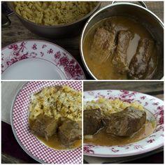 Λεμονάτο - ριγανάτο μοσχάρι με κοφτο μακαρόνι Beef, Cooking, Recipes, Food, Meat, Cucina, Kochen, Rezepte, Essen