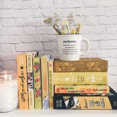 Tea, Coffee, and Books Stack Of Books, I Love Books, Good Books, Books To Read, My Books, Book Aesthetic, Coffee And Books, Study Inspiration, Bookshelf Inspiration