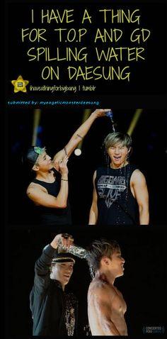 G-Dragon , Daesung and TOP (Choi Seung Hyun) ♡ #BIGBANG #FUNNY