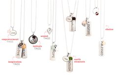 Tagged   Origami Owl    Origami Owl also offers Tagged necklaces. It's just another great way to show off who you are!