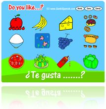 GenkiSpanish.com has a number of games and lessons on several topics.