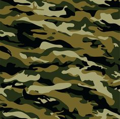 Army camo patterned  3 mil decal vinyl sheet by BreezePrintCompany