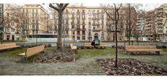 passeig de st joan_fase2_barcelona 2014 | lola domènech arquitecta