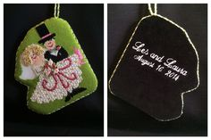 Special ornament with special monagram