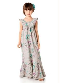 moda infantil vestido longo - Pesquisa Google