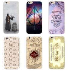 7017b6b5170 Harry Potter Case For iphone SE 5 5S 6 6S 6S 7 8 X Plus Transparent Hard  Plastic Cases Phone Back Cover Coque Capa. Yesterday's price: US $1.47  (1.28 EUR).