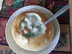 This recipe is easy and can be doubled, tripled, whatever! It is a quick alternative to pot pie as there is no crust to deal with (I always go for the center anyways) Chicken Pot Pie Soup Recipe, Chicken Recipes, Chicken Potpie, Bread Bowls, Food Now, How To Cook Chicken, Half Chicken, Canned Chicken, Pie Recipes