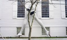 "Larry Rivers's mixed-media construction, ""Legs,"" in Sag Harbor, on Long Island.  Published March 23, 2012 New York Times by Barbara Goldsmith"