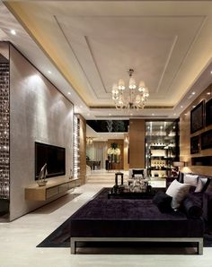 Ceiling - luxury living room