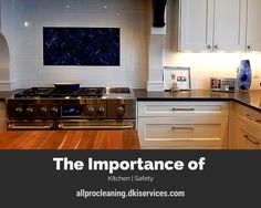 In this post, DKI, All Pro Cleaning & Restoration has some tips to help make your kitchen a safer place. Read the post here: http://allprocleaning.dkiservices.com/blog/posts/tips/the-importance-of-kitchen-safety