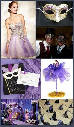 Midnight Masquerade Ball ....a little over the top